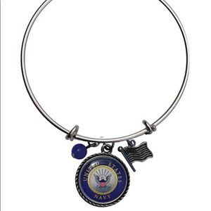 Jewelry - US Navy Charm Bangle